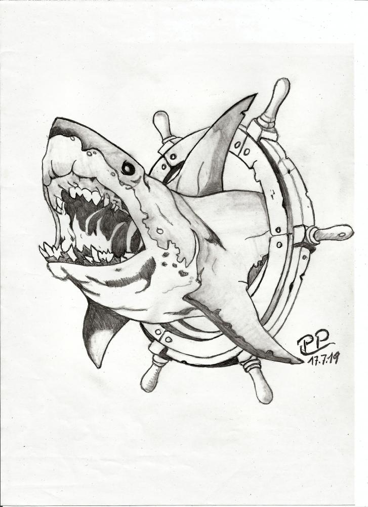 Jaws by Patoux